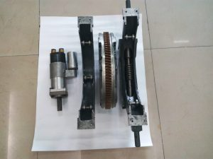 Disassembly of Crankshaft Grinding Machine with Pneumatic Motor