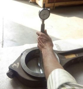 Calibration of Connecting Rod
