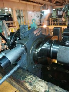Insitu Crankshaft Grinding in Process
