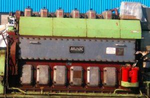MAK Marine Diesel Engine