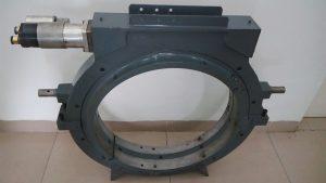 Pneumatic Motor Mounted on Machine