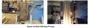 Repair by Metal Stitching Process