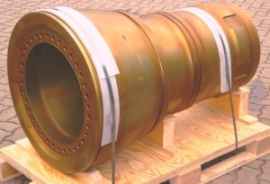 Cylinder Liners of Ruston Diesel Engine
