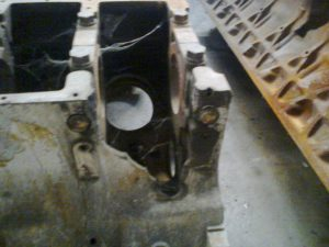 Engine Block of MAN Diesel Engine Broken Ito Pieces
