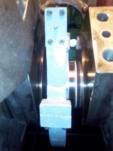 Crankshaft Repair on Board the Vessel