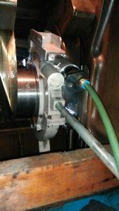 Crankshaft Grinding of Wartsila Diesel Engine