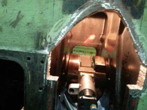 Grinding & Repair of Crankshaft After Major Accident
