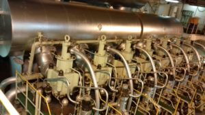 Repair and Overhaul of Diesel Engine is in Process