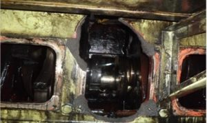 Repair of Engine Block by Metal Stitching Process