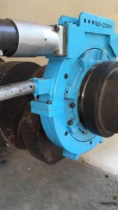 Grinding of Crankshaft in a Power Plant by Crankshaft Grinder