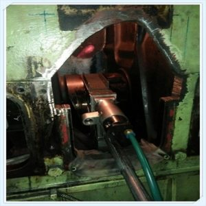 Crankshaft repair machining