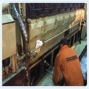 On-site crankshaft repair