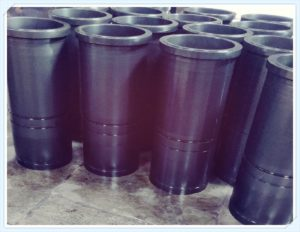 cylinder liner and cylinder sleeve after phosphating